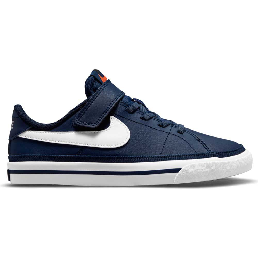 Nike Court Legacy EU 28 1/2 Midnight Navy / White / Gum Light Brown