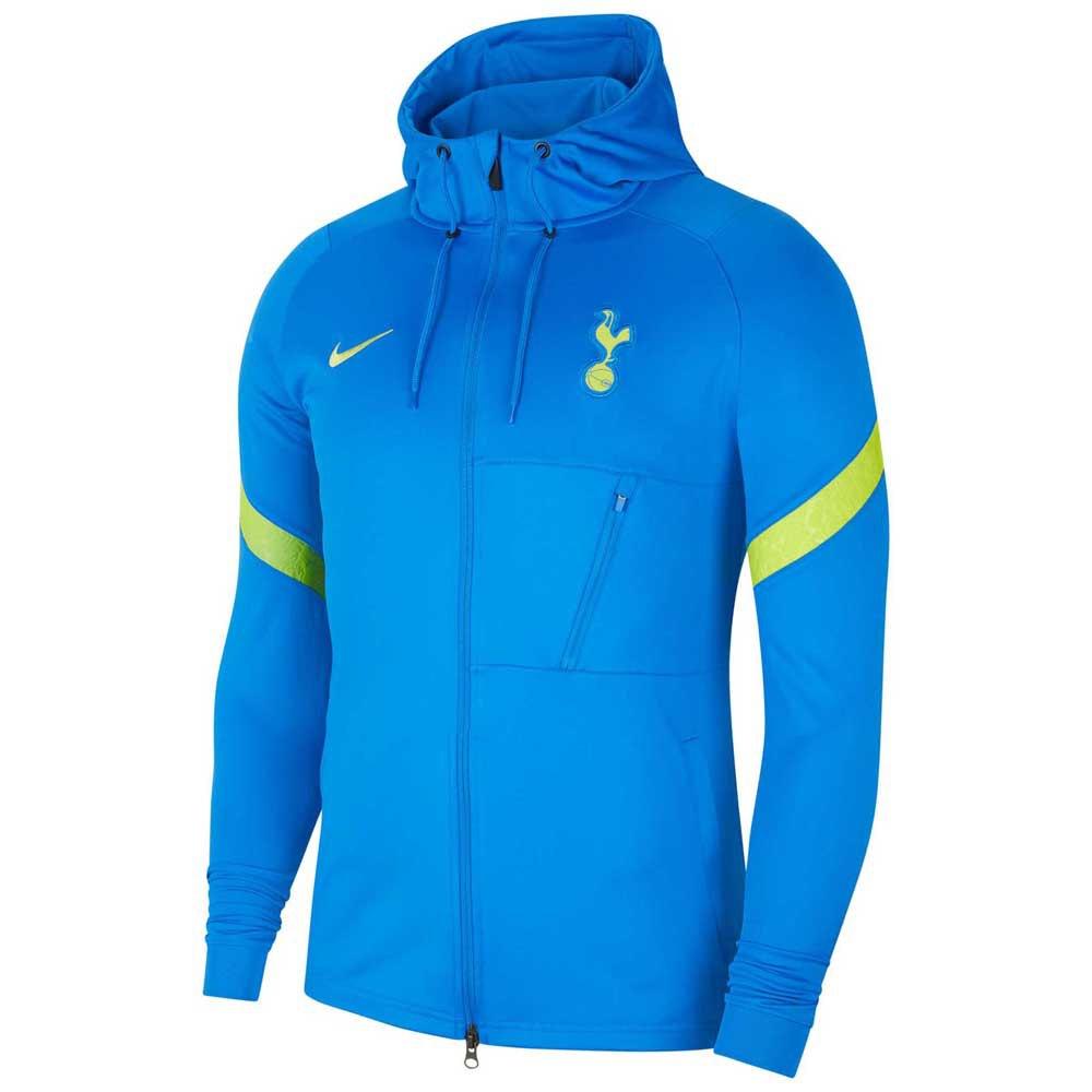Nike Blouson Tottenham Hotspur Strike Knit 21/22 XL Signal Blue / Venom Green / Venom Green