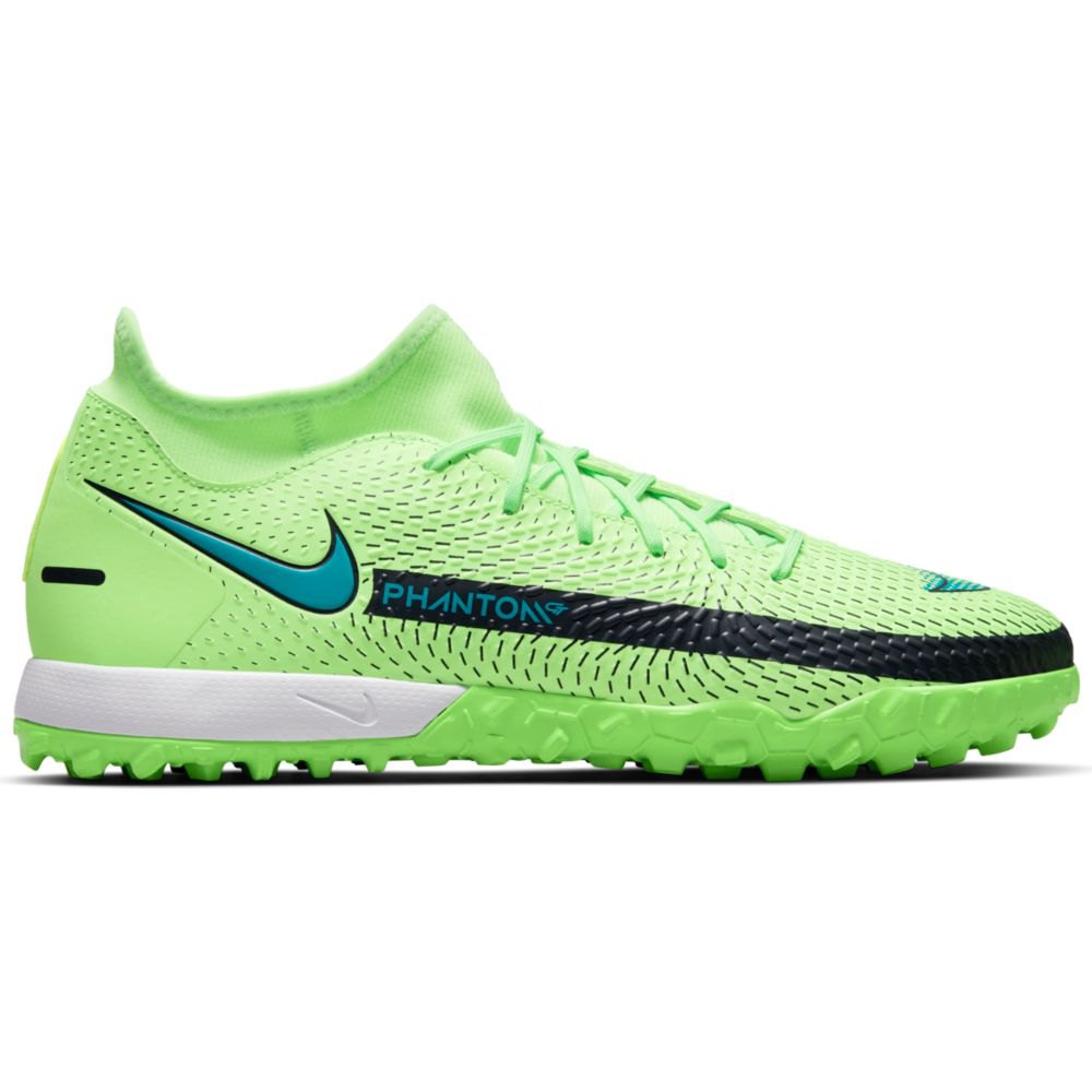 Nike Chaussures Football Phantom Gt Academy Df Tf EU 45 Lime Glow / Aquamarine