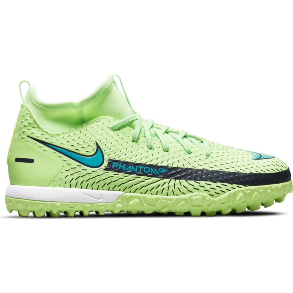 Nike Chaussures Football Phantom Gt Academy Df Tf EU 37 1/2 Lime Glow / Aquamarine