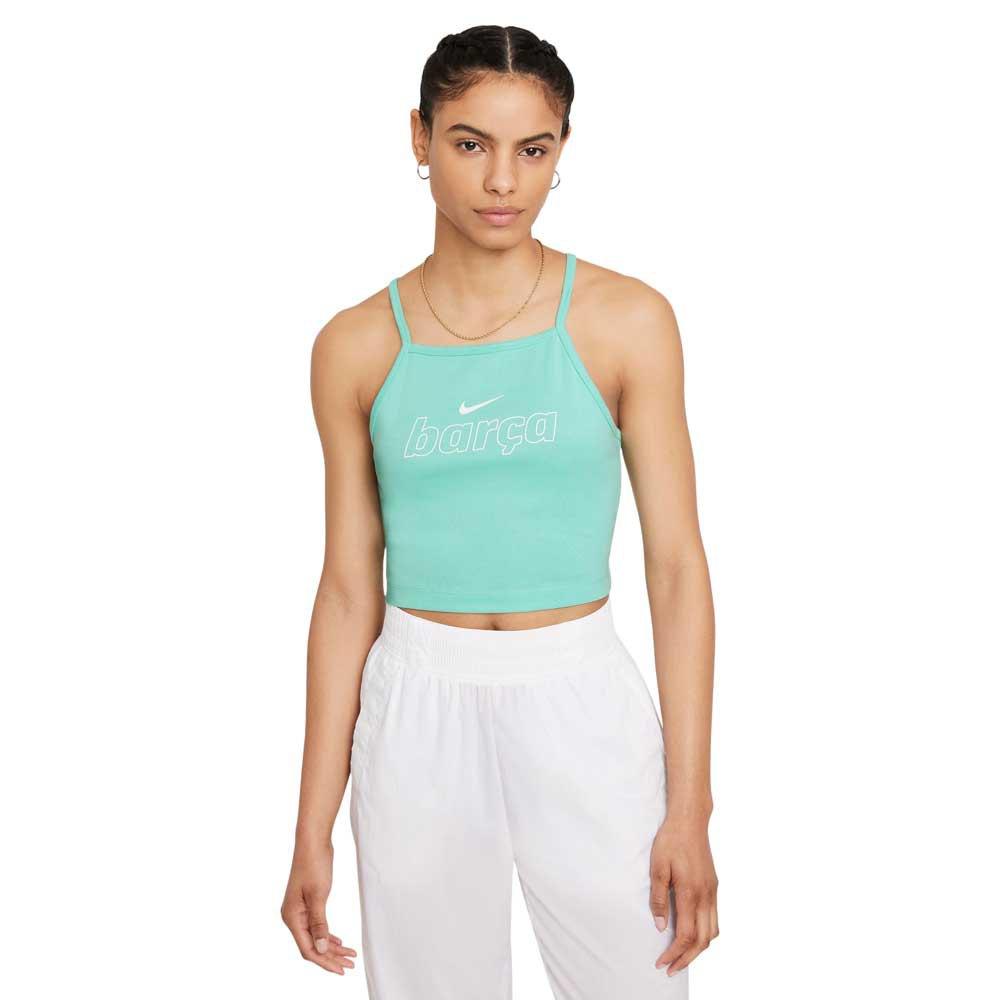Nike Fc Barcelona Essential 21/22 S Tropical Twist / White