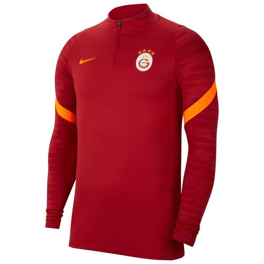 Nike T-shirt Galatasaray Strike Drill 21/22 S Pepper Red / Pepper Red / Total Orange