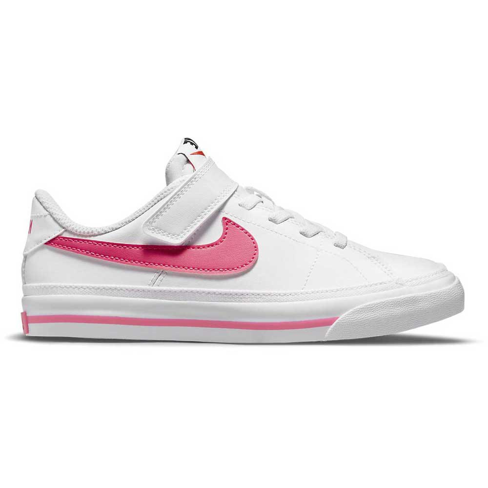 Nike Court Legacy EU 28 1/2 White / Hyper Pink