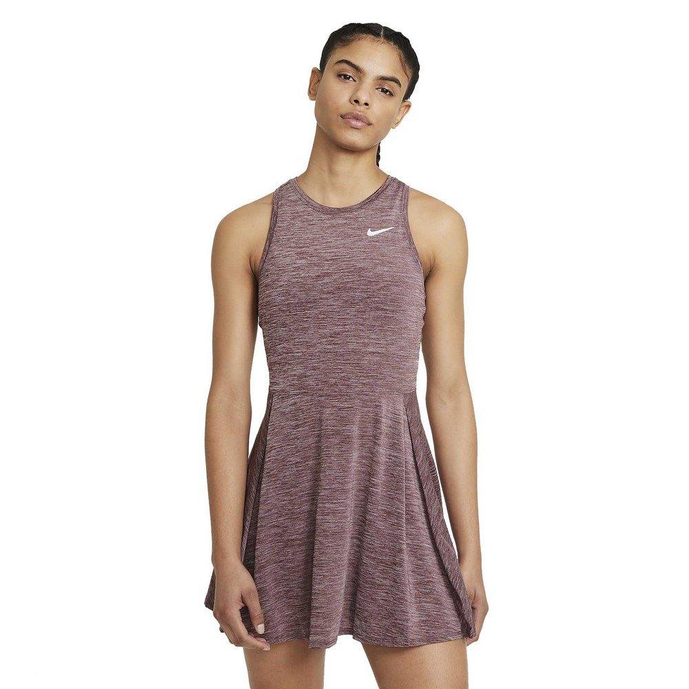 Nike Robe Court Dri Fit Advantage L Dark Beetroot / White