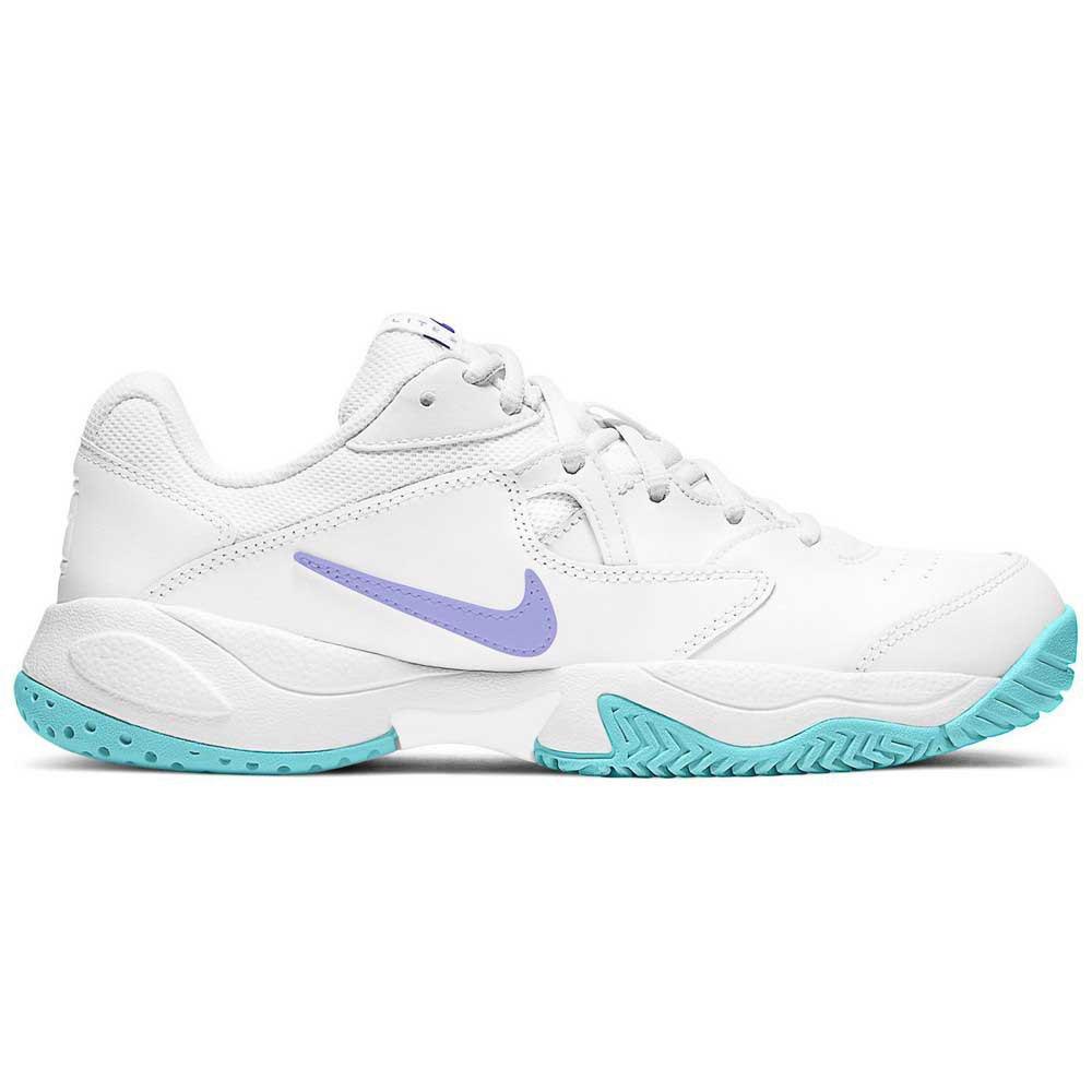 Nike Chaussures Court Lite 2 EU 41 White / Purple Pulse / Copa