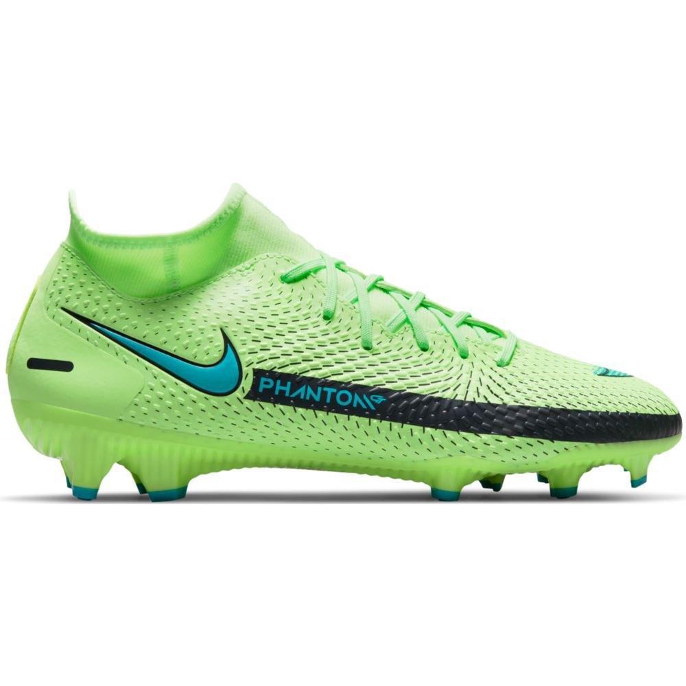Nike Chaussures Football Phantom Gt Academy Df Fg/mg EU 43 Lime Glow / Aquamarine