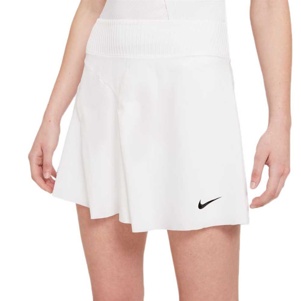 Nike Court Dri Fit Advantage Slam Jupe L White / Black