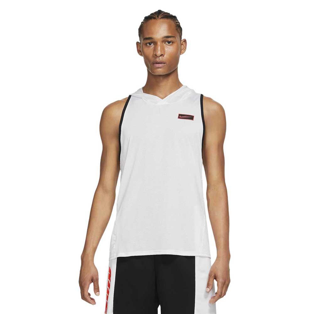 Nike Sweat À Capuche Sport Clash L White / Black / Lt Fusion Red