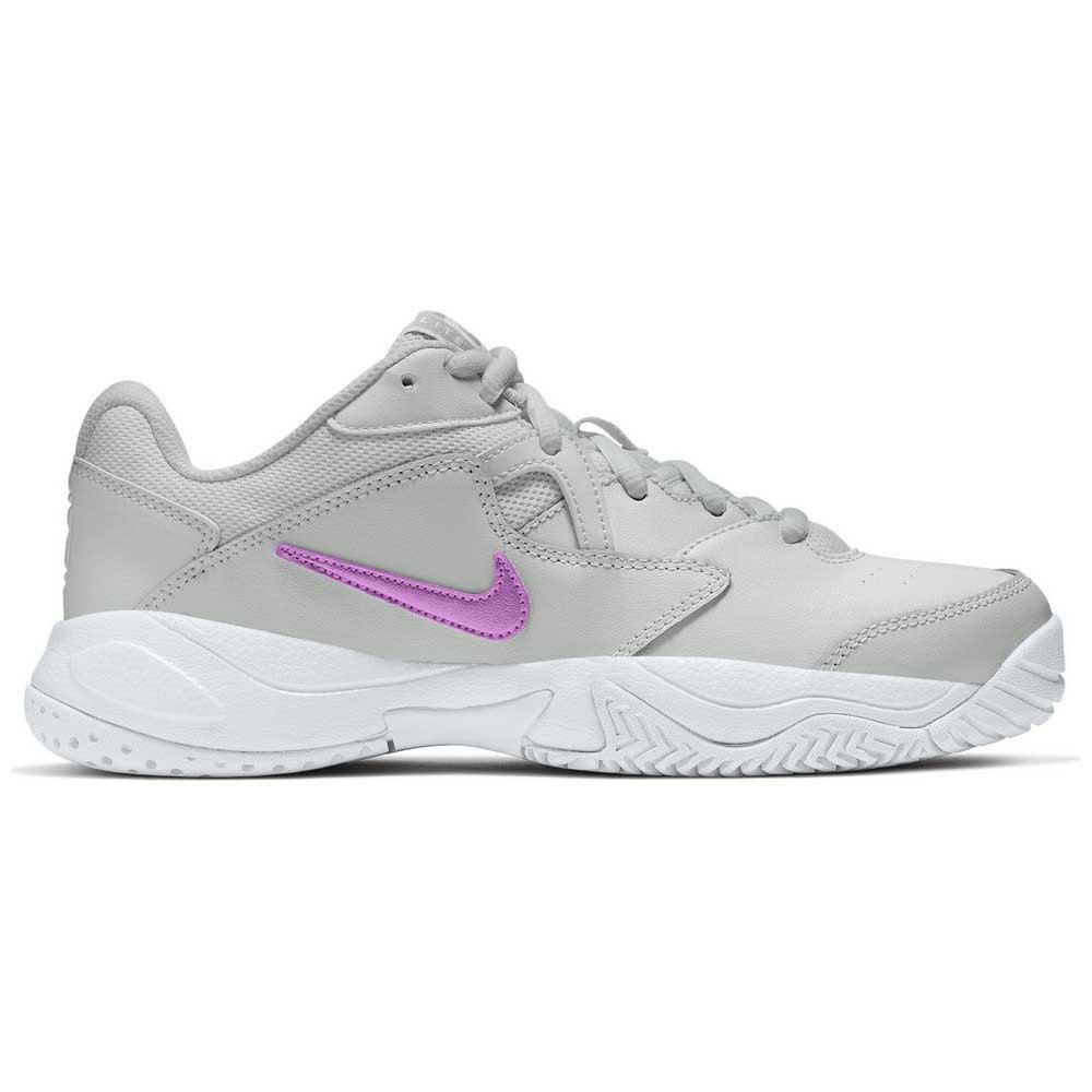 Nike Chaussures Court Lite 2 EU 41 Photon Dust / Fuchsia Glow / White