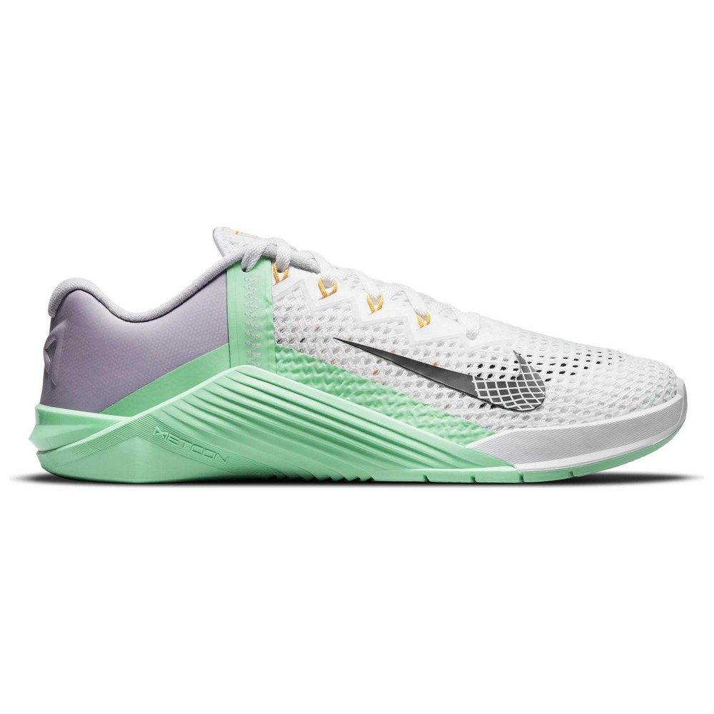 Nike Metcon 6 EU 43 White / Dark Smoke Grey / Infinite Lilac