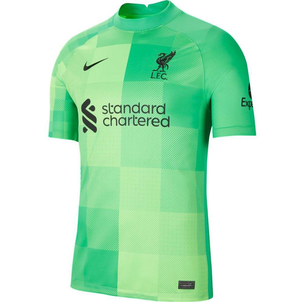 Nike T-shirt Liverpool Fc Stadium Goalkeeper 21/22 XXXL Green Spark / Black