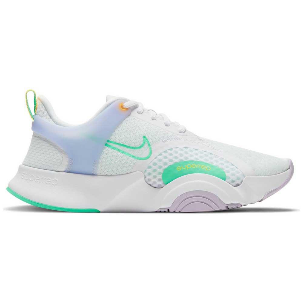 Nike Superrep Go 2 EU 41 White / Green Glow / Infinite Lilac