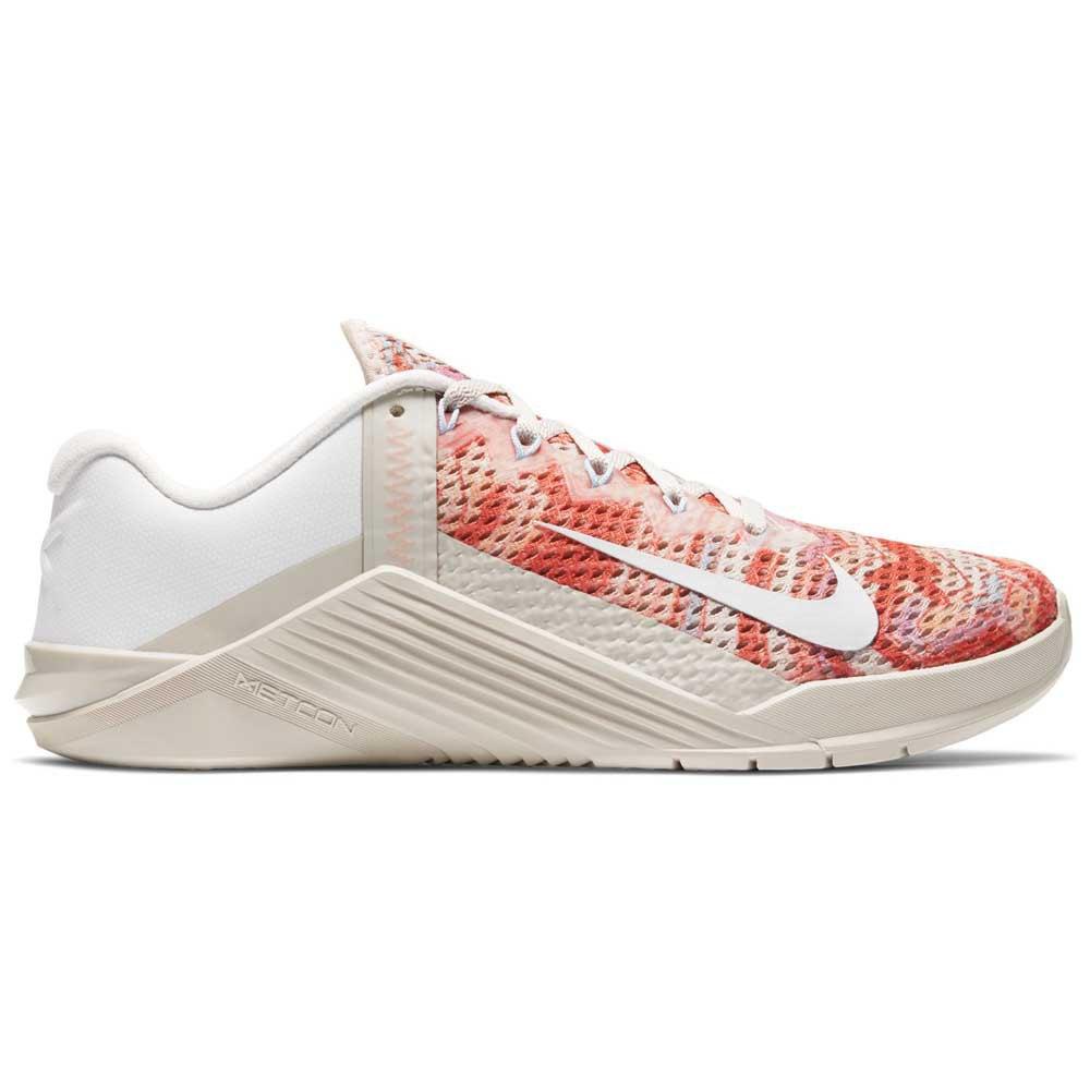 Nike Zapatillas Metcon 6 EU 41 Desert Sand / Summit White / Crimson Bliss