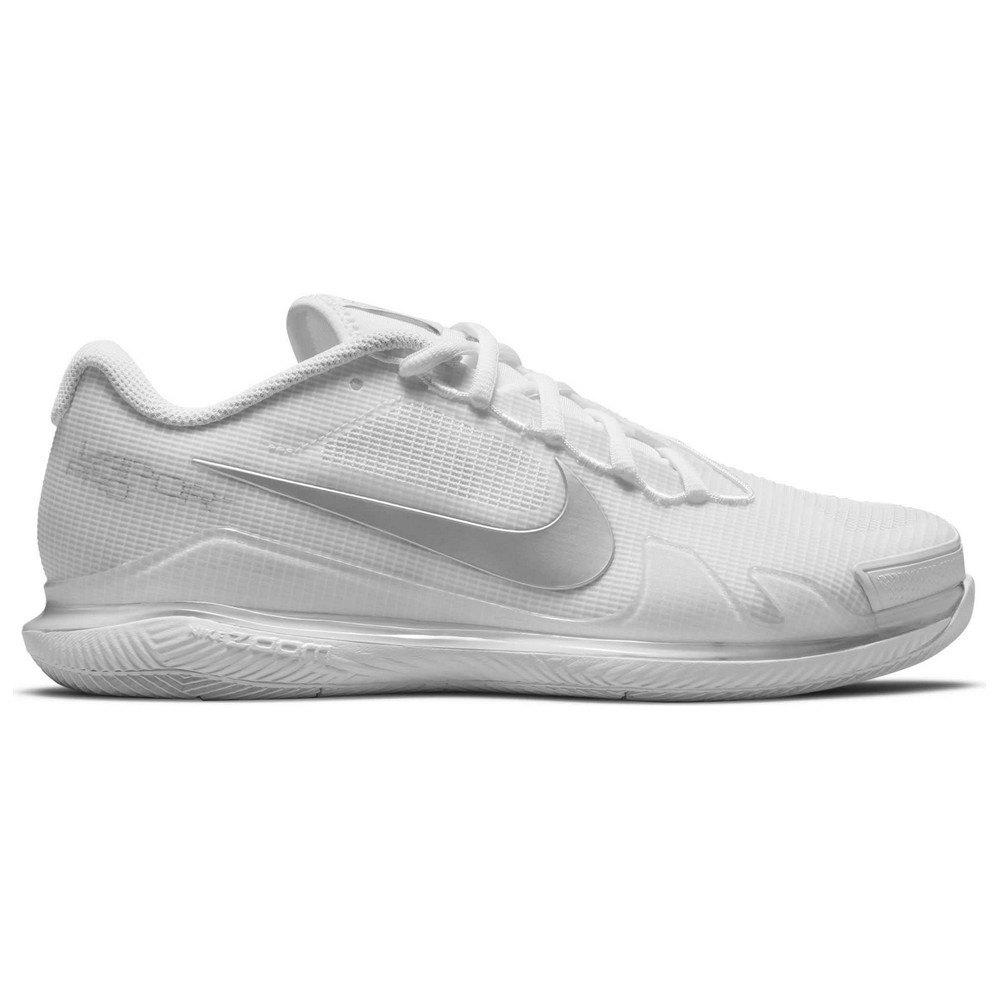 Nike Court Air Zoom Vapor Pro EU 41 White / Metallic Silverer