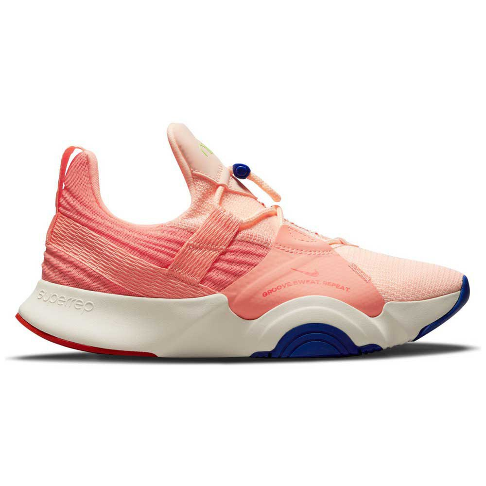 Nike Chaussures Superrep Groove Cardio Dance EU 38 Crimson Tint / Tm Orange / Crimson Bliss