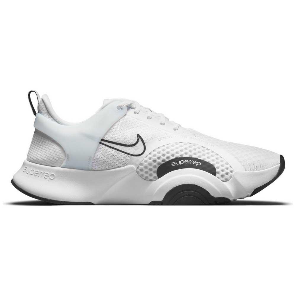 Nike Superrep Go 2 EU 45 White / Black / White / Pure Platinum