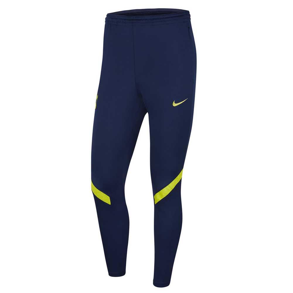 Nike Pantalons Tottenham Hotspur Strike 21/22 L Binary Blue / Venom Green / Venom Green