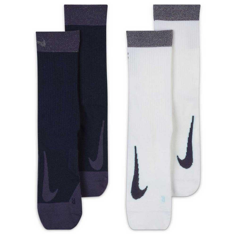 Nike Chaussettes Court Multiplier Max Crew 2 Paires EU 34-38 Multicolor
