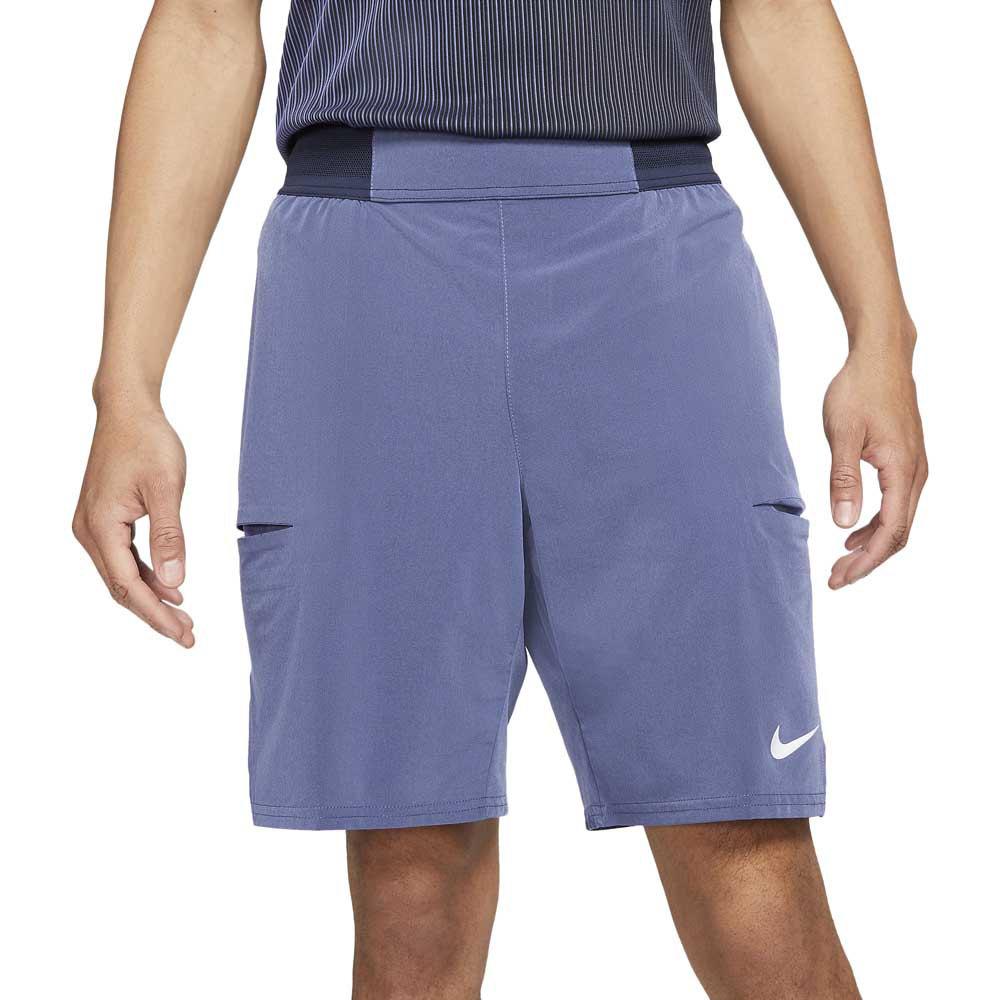 Nike Court Dri Fit Slam S Obsidian / Dk Purple Dust / White
