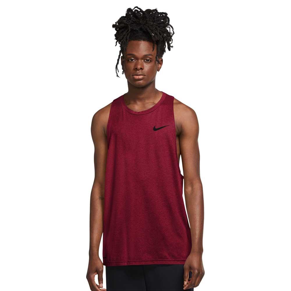 Nike T-shirt Sans Manches Pro Dri Fit XL Team Red / University Red / Heather / Black