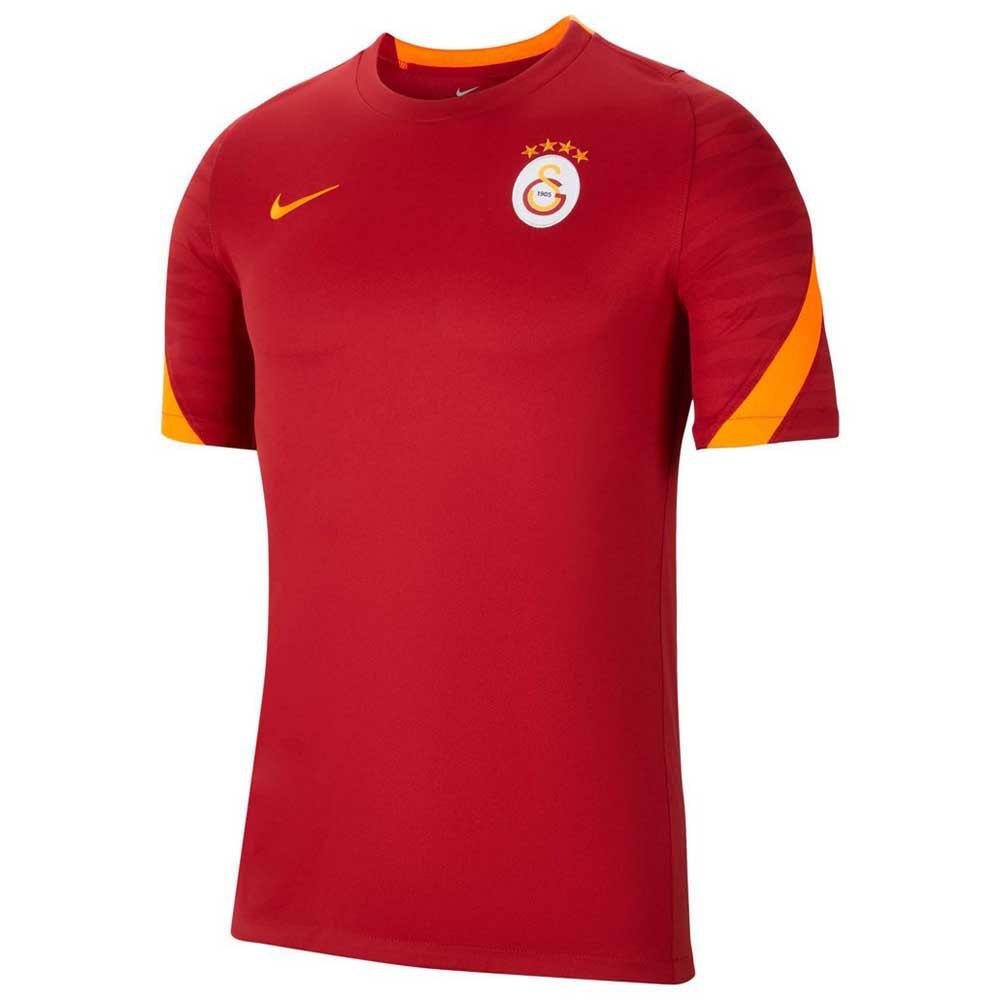 Nike T-shirt Galatasaray Strike 21/22 S Pepper Red / Pepper Red / Total Orange