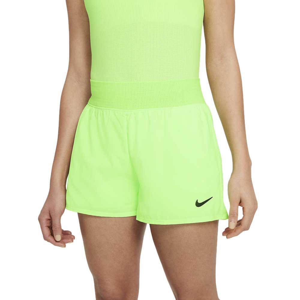 Nike Short Court Dri Fit Victory S Lime Glow / Black