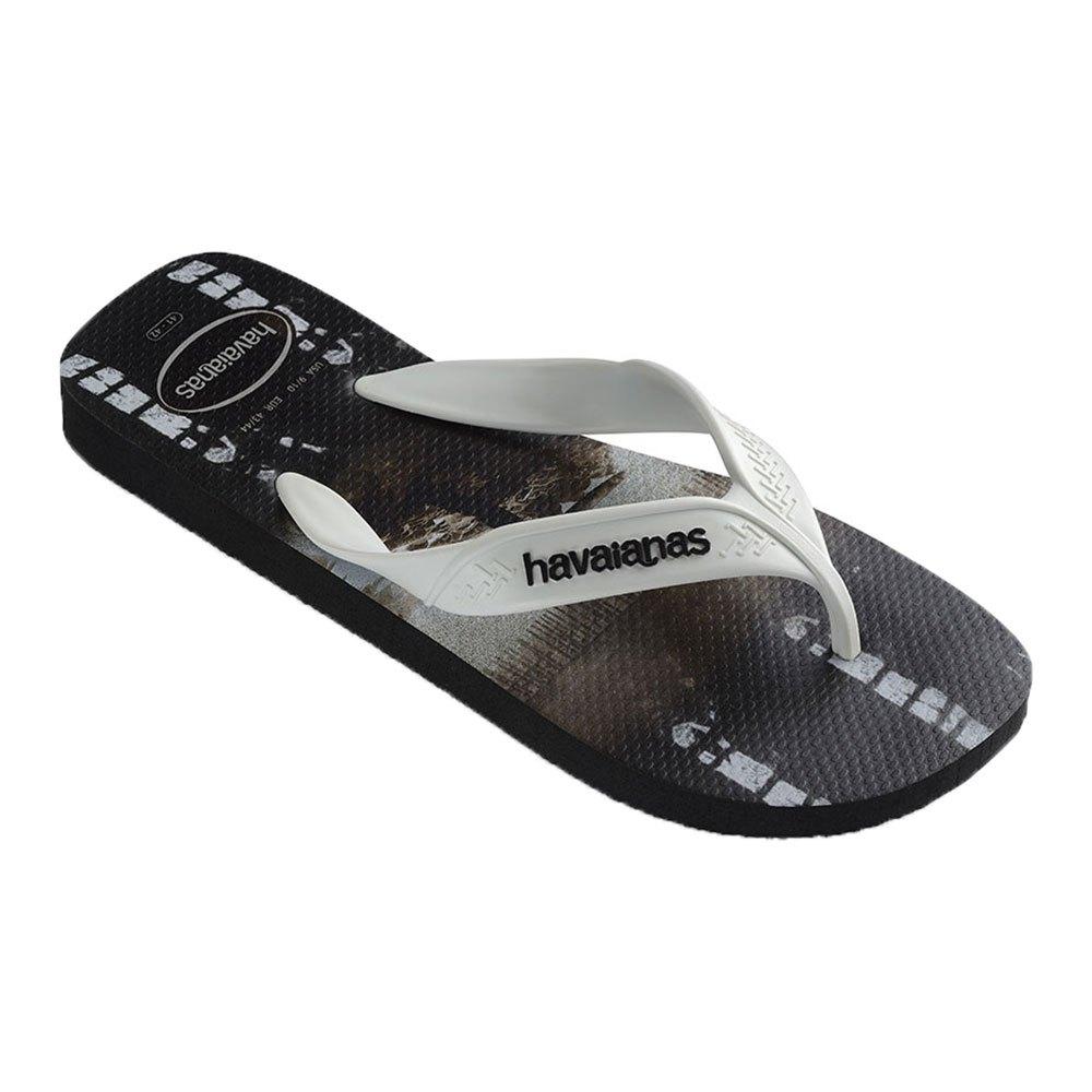 Havaianas Tongs Surf EU 47-48 Black / White / Black