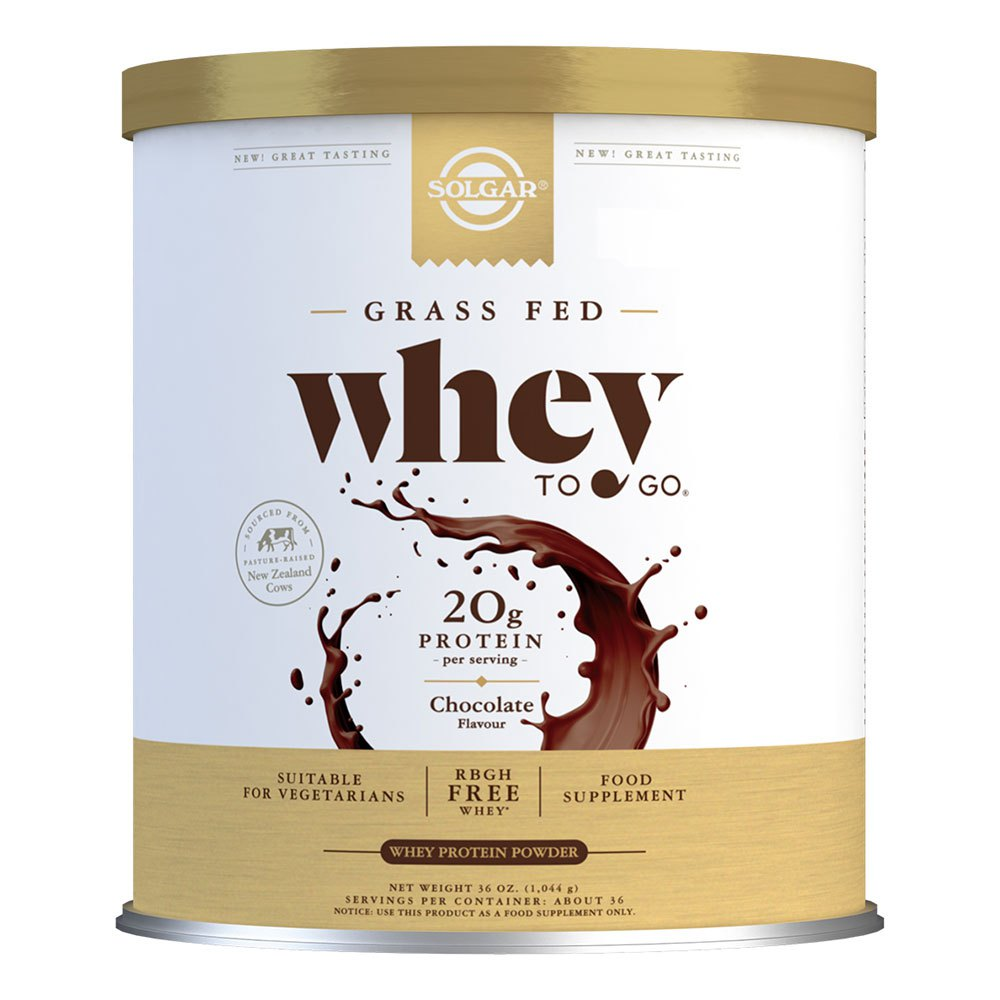 Solgar Whey To Go Protein Powder 1162 Gr Chocolate One Size