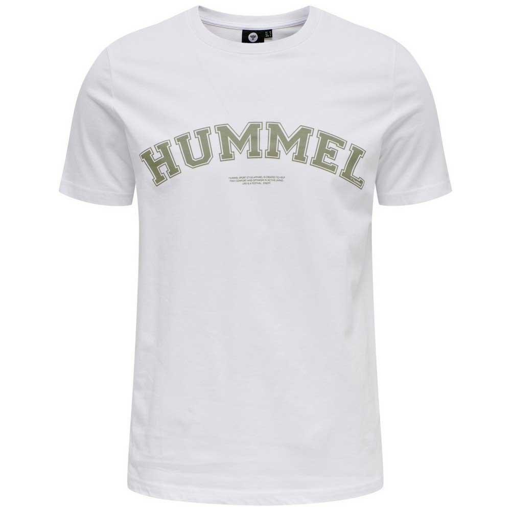 Hummel T-shirt Manche Courte Varsity XXL White