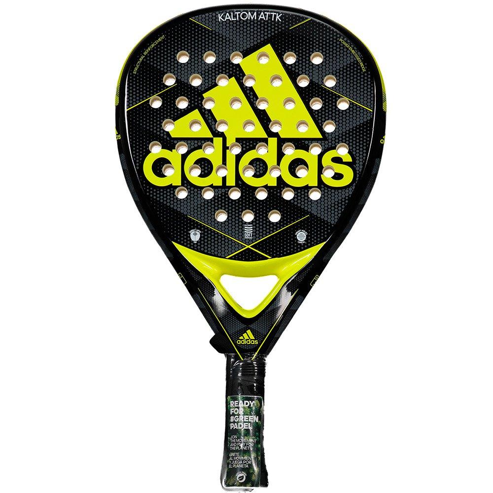 Adidas Padel Raquette Padel Kaltom Attk 2.0 One Size Black / Yellow