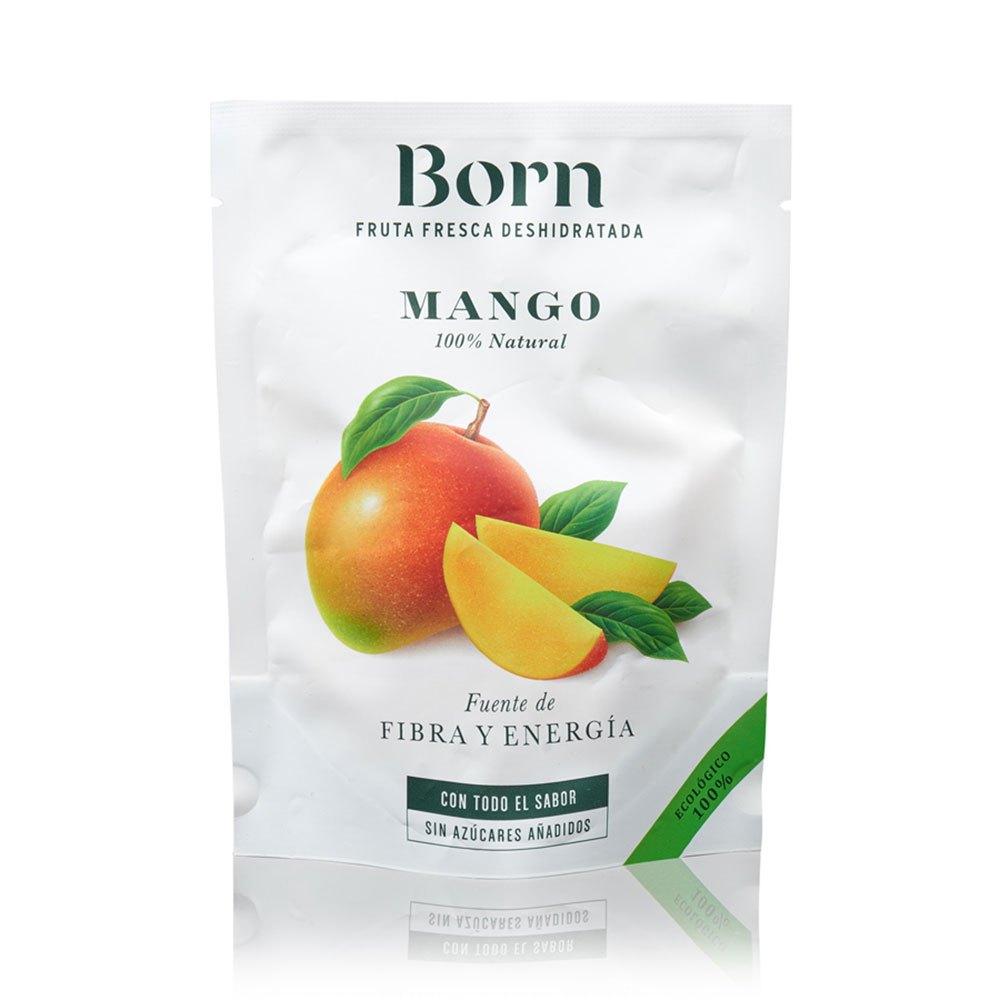Born Fruits Mangue Semi-déshydraté 40 Gr Bio One Size