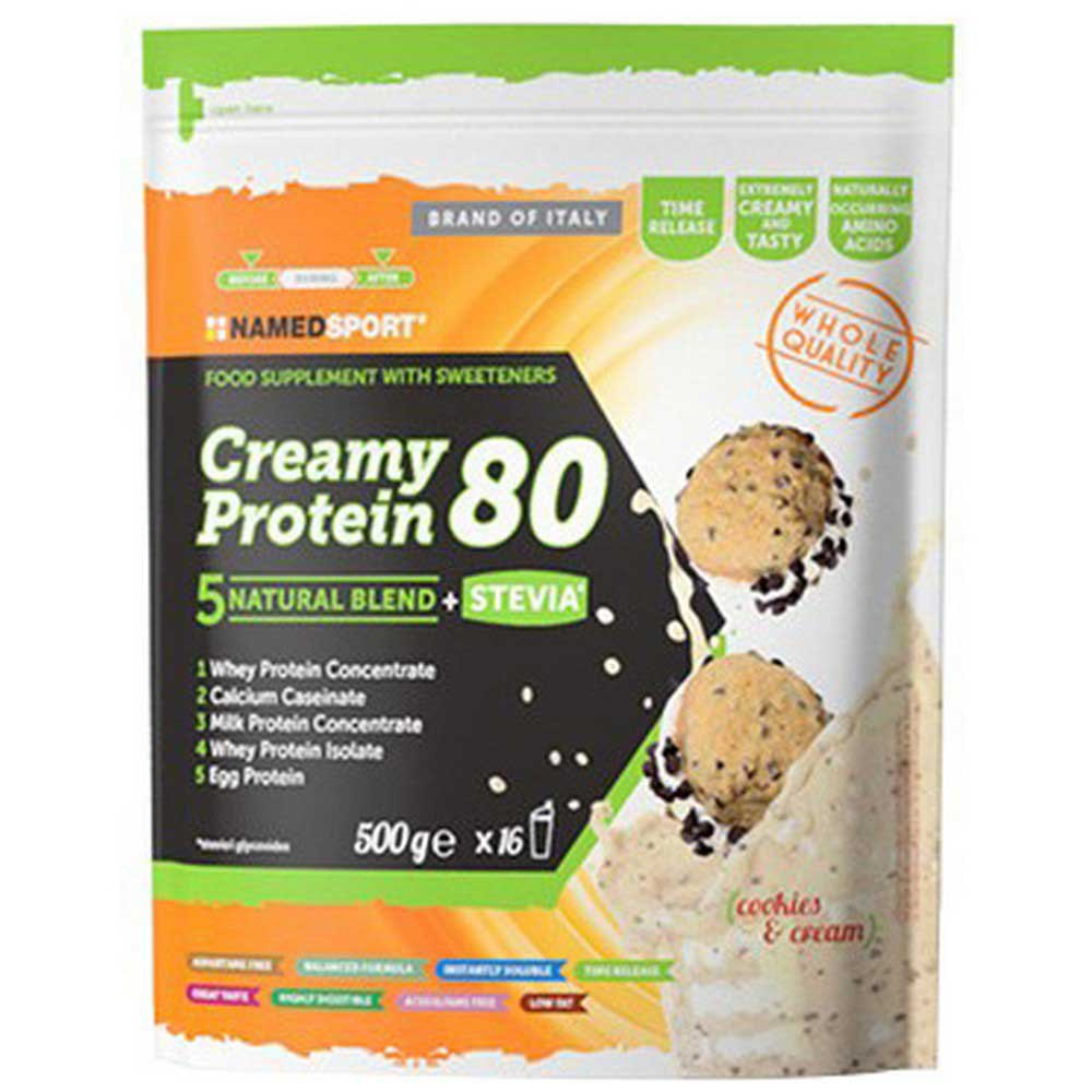 Named Sport Creamy Protein 80 500g Cookies&cream One Size