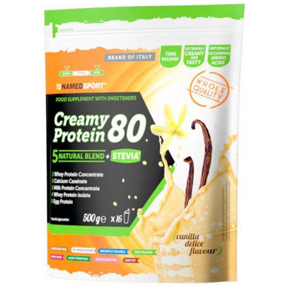 Named Sport Creamy Protein 80 500g Vanilla One Size