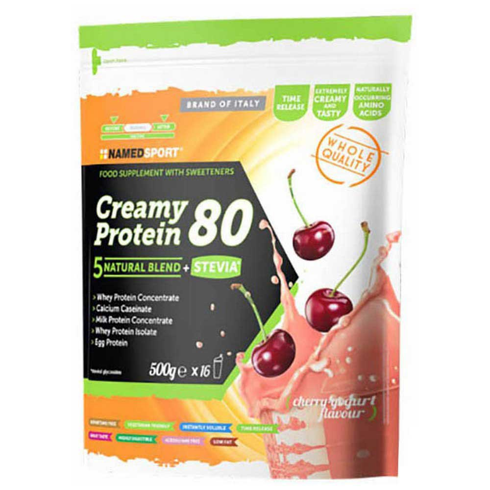 Named Sport Creamy Protein 80 500g Cherry Yogurt One Size