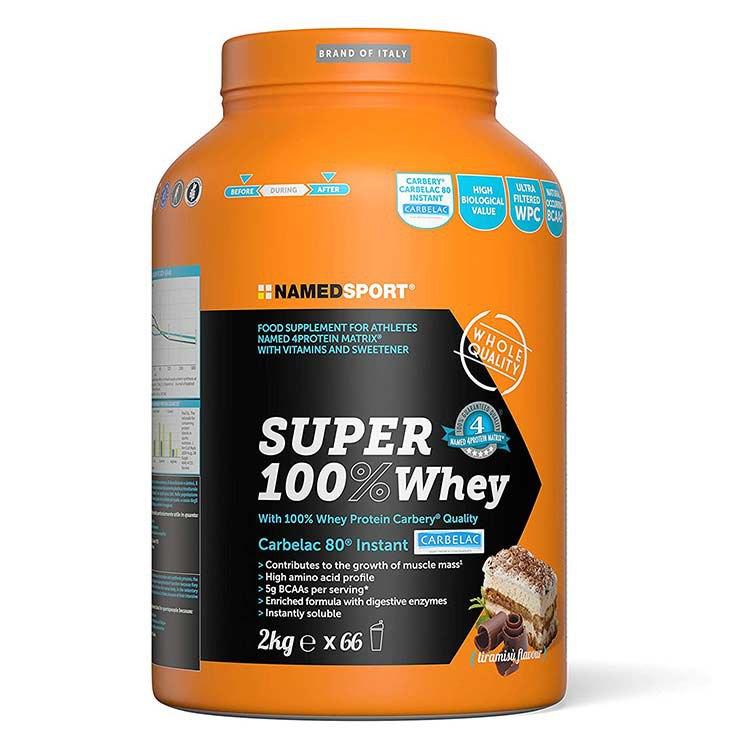 Named Sport Super 100% Lactosérum 2kg Tiramisu One Size