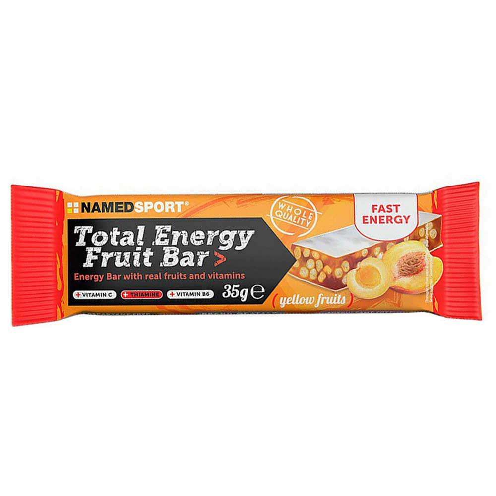 Named Sport Total Energy Fruit 35g 25 Units Yellow Fruits One Size