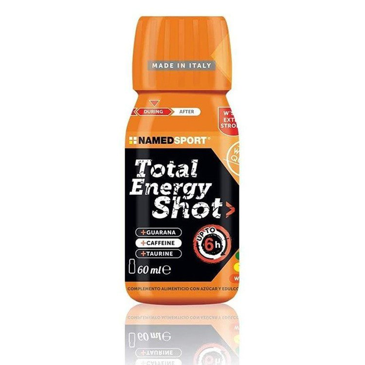 Named Sport Total Energy Shot 60ml 50 Units Orange One Size