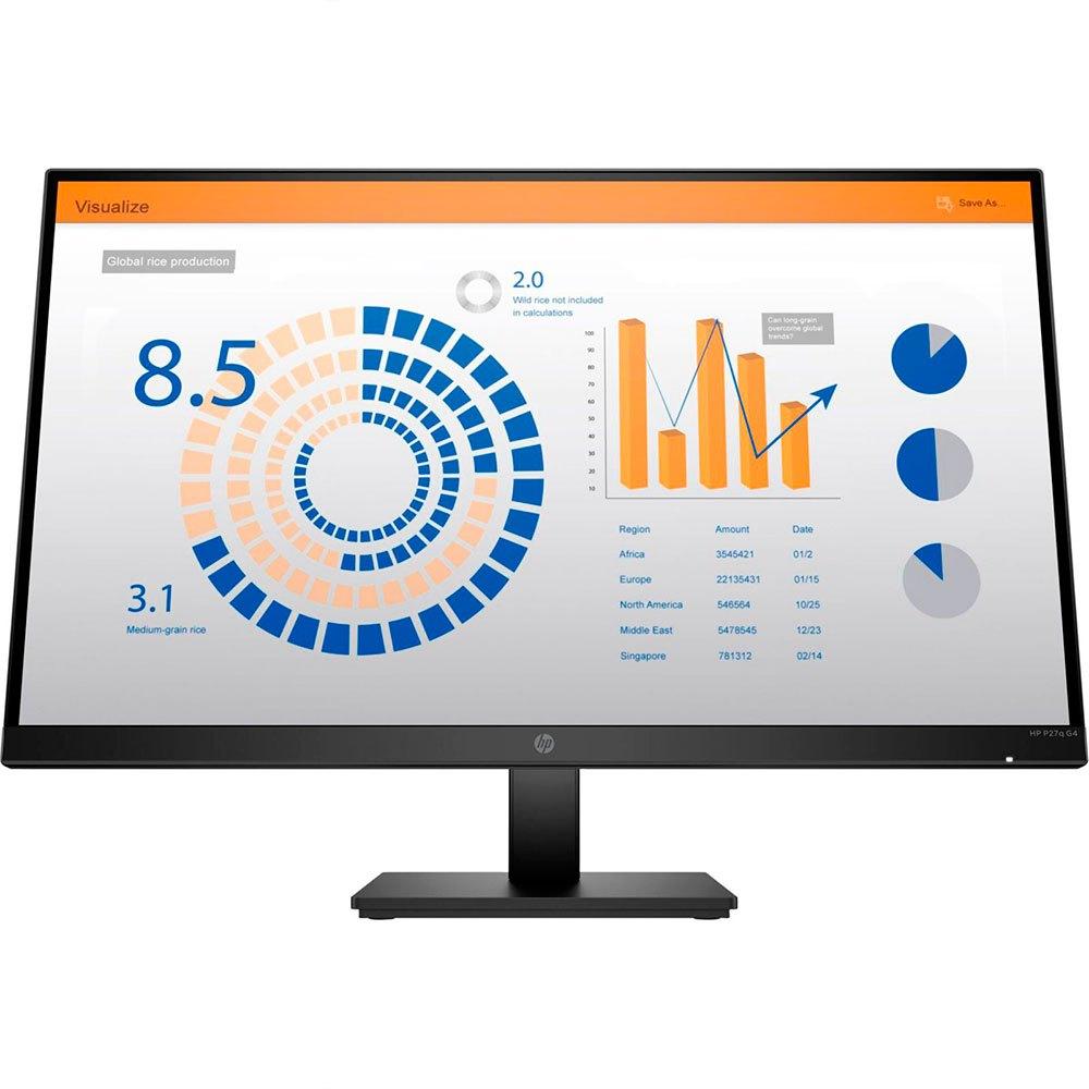 Monitor Hp P27q G4 27'' Full Hd Led One Size Black