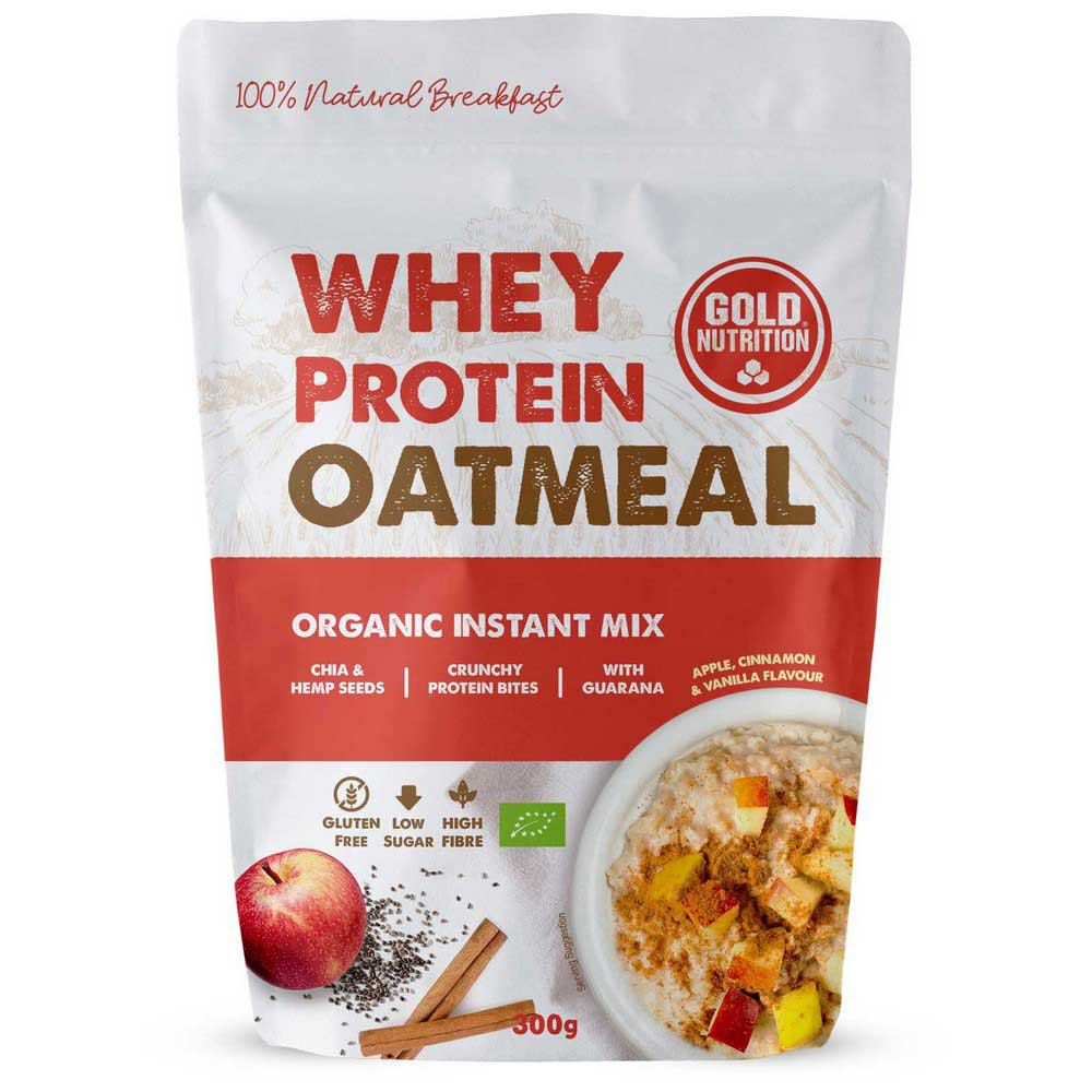Gold Nutrition Whey Protein Avoine Pomme Cannelle&vanille 300g One Size