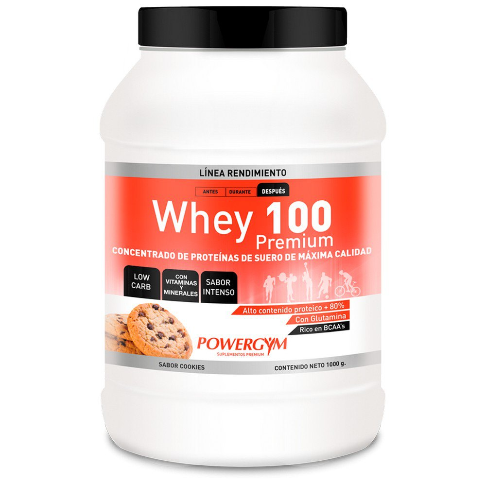 Powergym Whey 100 1 Kg Biscuits One Size