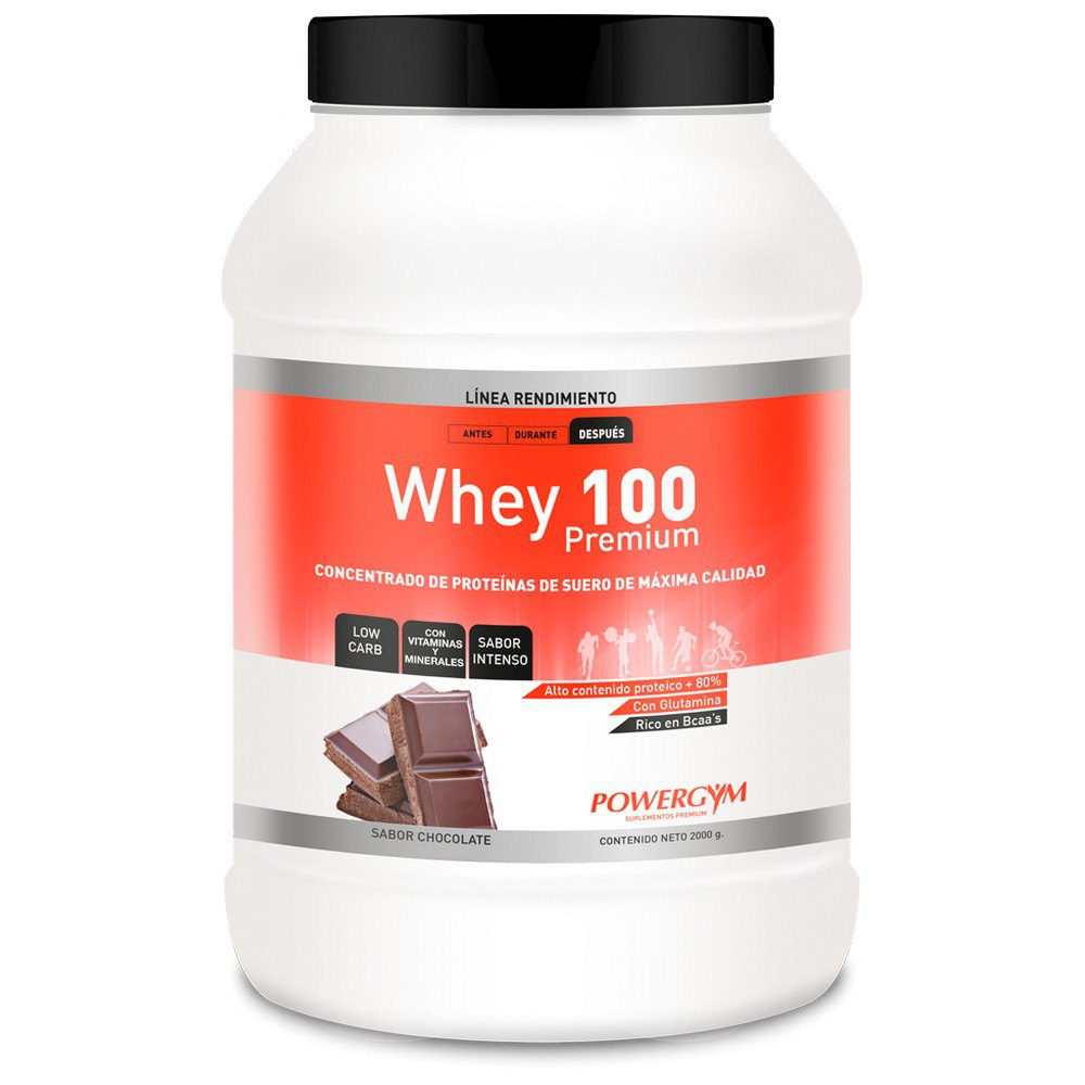 Powergym Whey 100 2 Kg Chocolate One Size