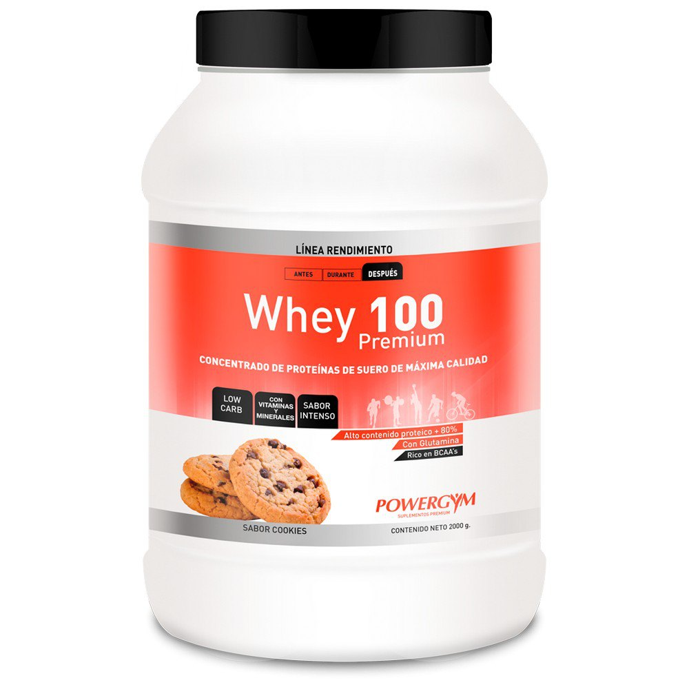Powergym Whey 100 2 Kg Biscuits One Size