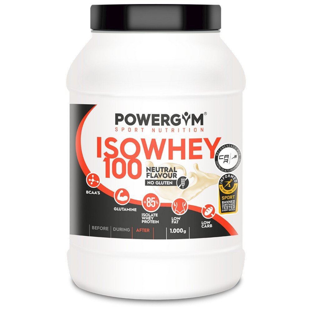 Powergym Iso Whey 100 1 Kg Neutral One Size