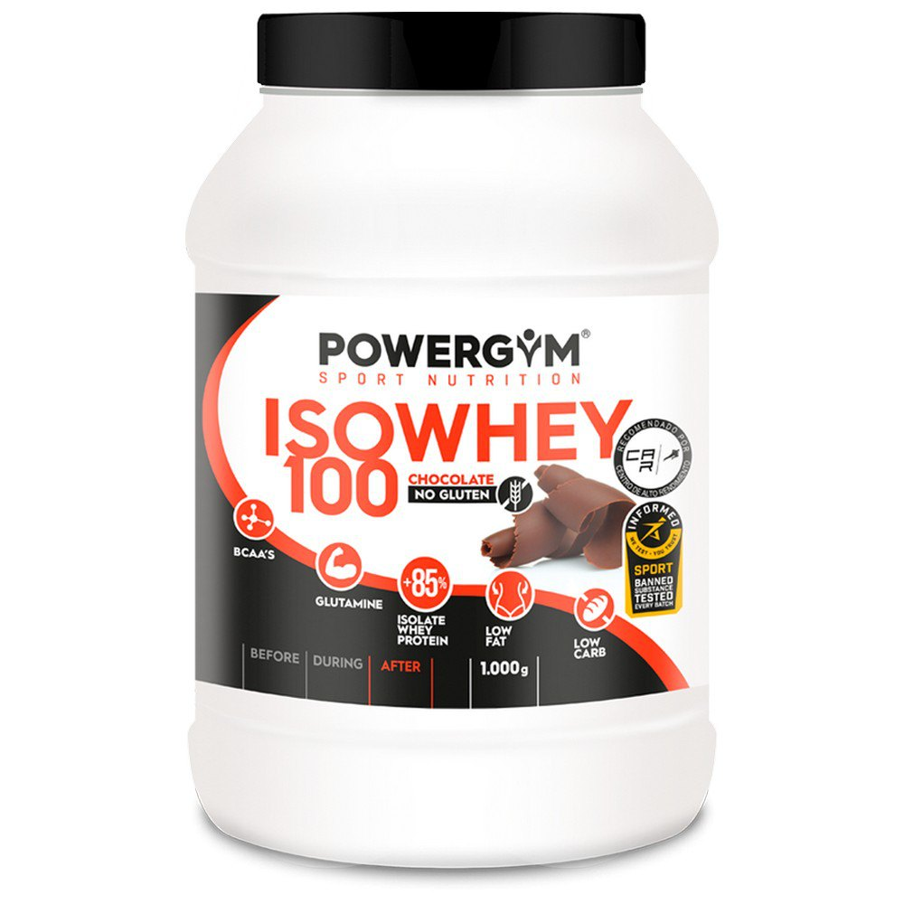 Powergym Iso Whey 100 1 Kg Chocolate One Size