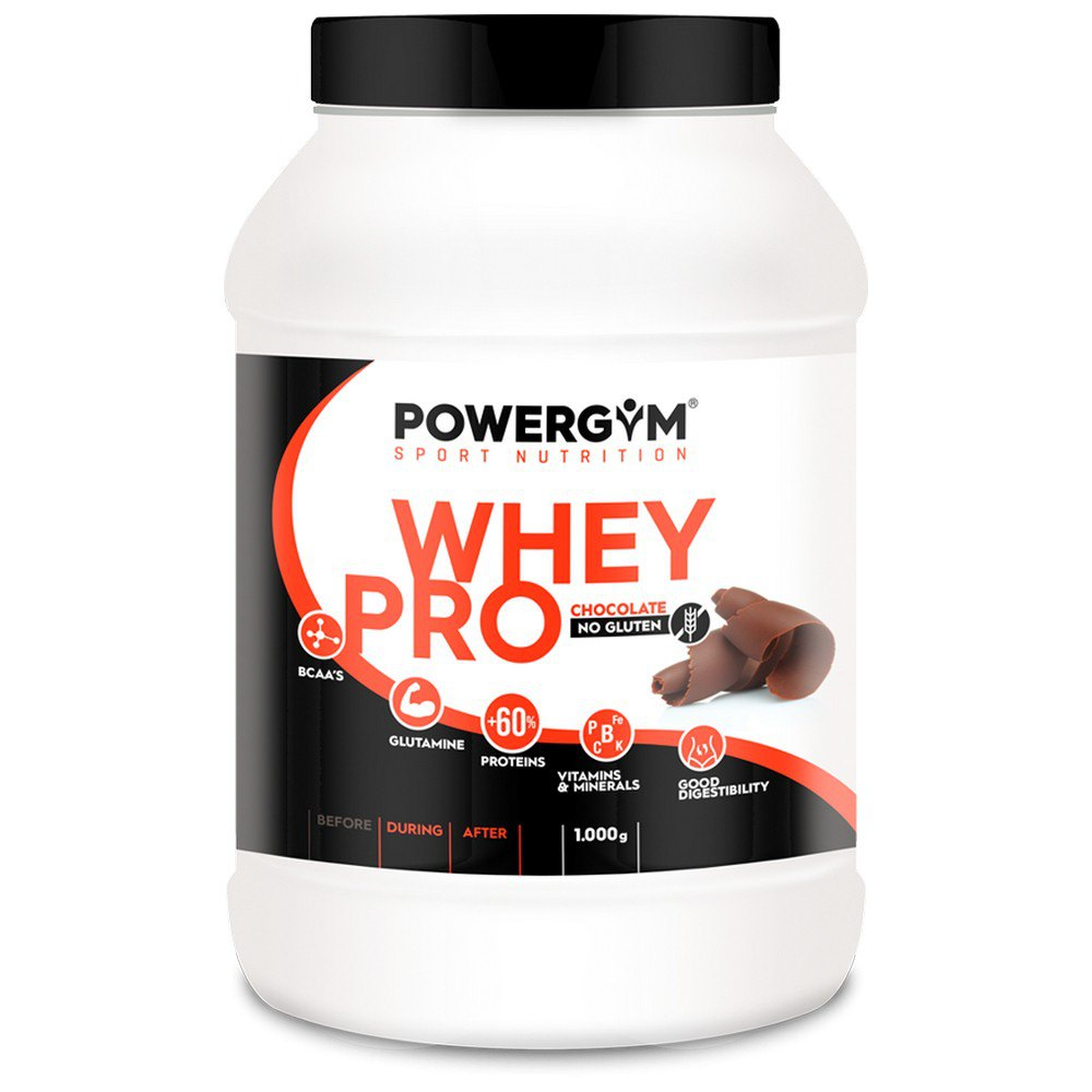 Powergym Whey Pro 1 Kg Chocolate One Size