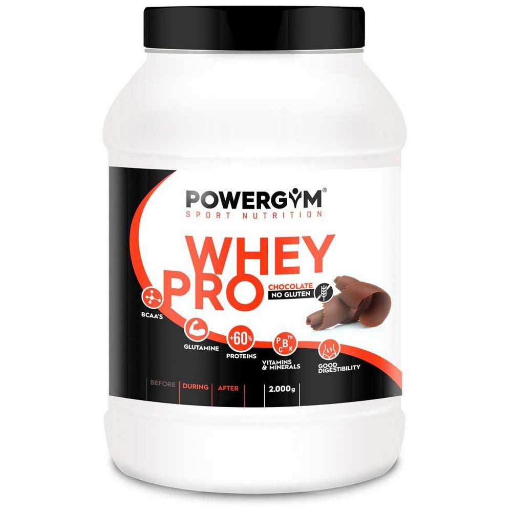 Powergym Whey Pro 2 Kg Chocolate One Size