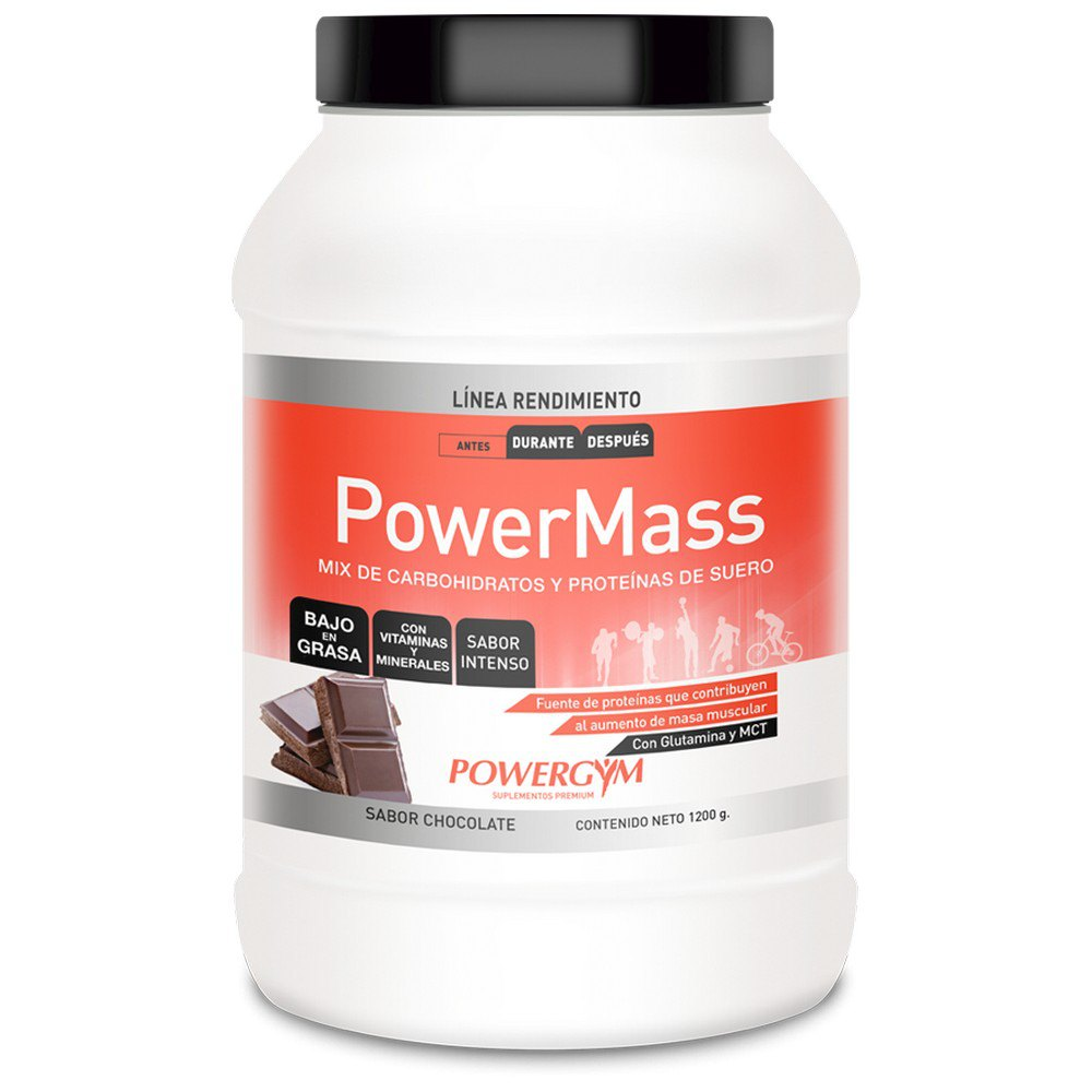 Powergym Powermass 1200g Chocolate One Size