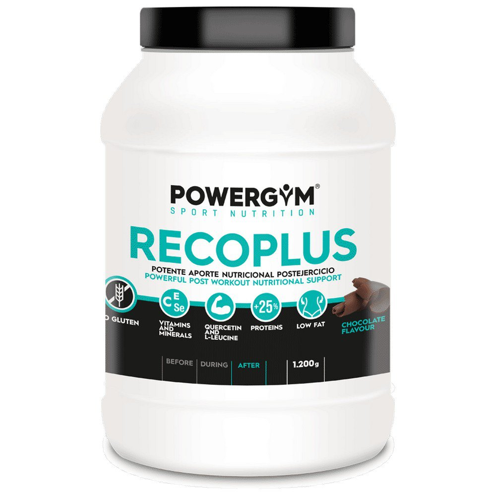 Powergym Recoplus 1200g Chocolate One Size