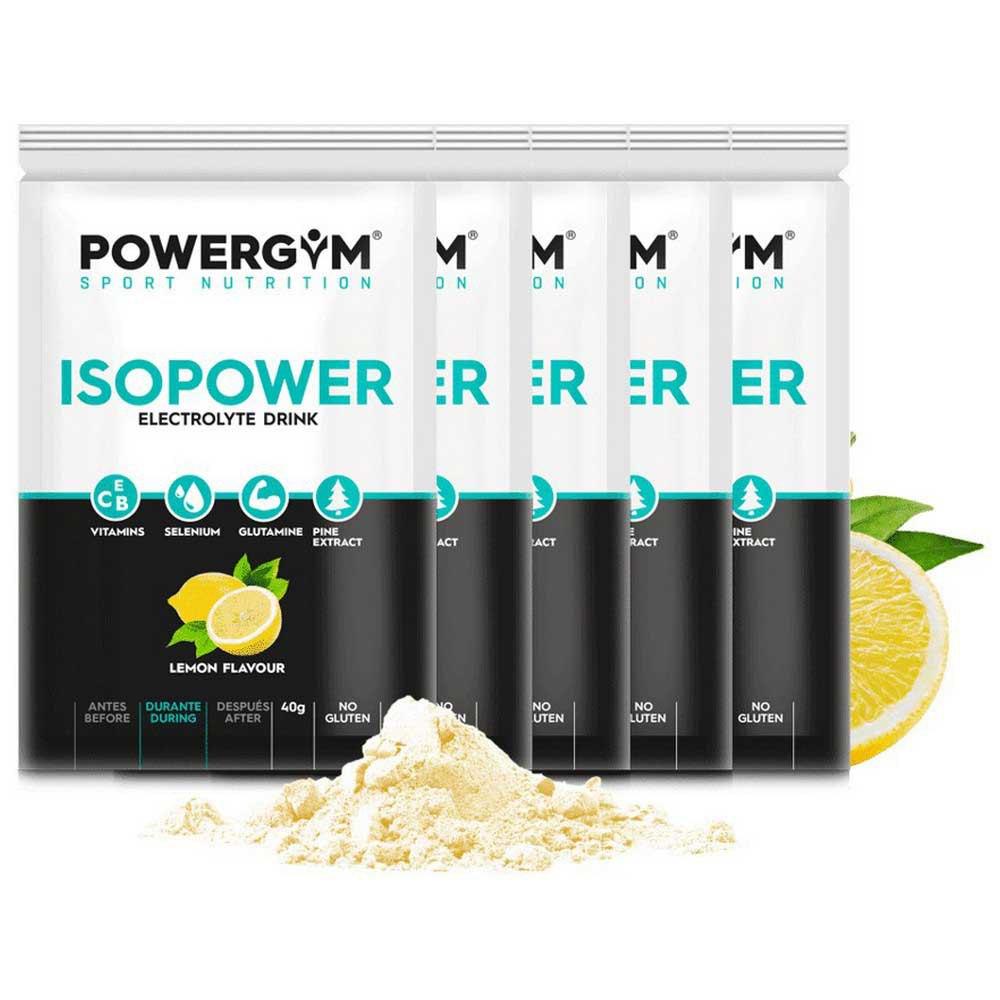 Powergym Isopower 40g 5 Units Lemon One Size