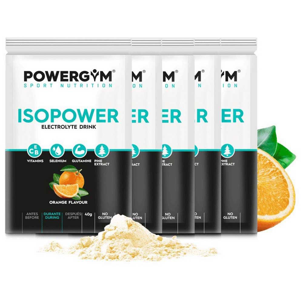 Powergym Isopower 40g 5 Units Orange One Size